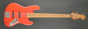K. Bass JV 4  translucent red
